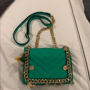 Aldo green summer cross body